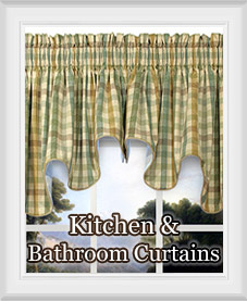 Kitchen and Bathroom Curtains