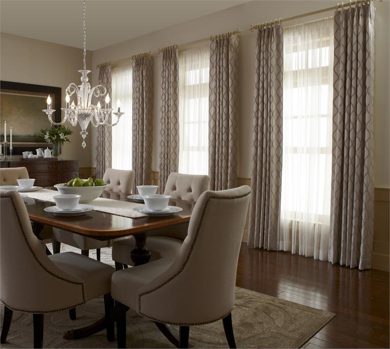 custom crown pleat panels group 2 patterns. Black Bedroom Furniture Sets. Home Design Ideas